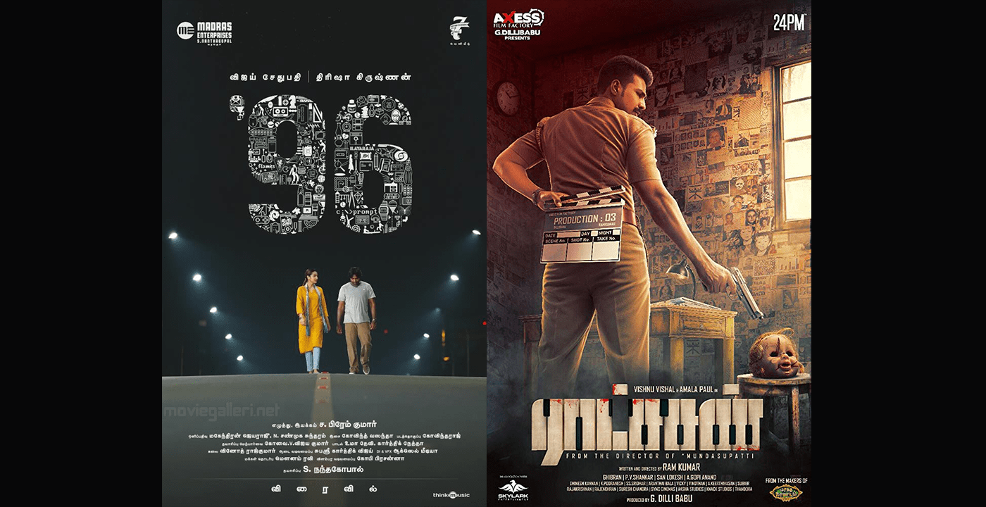 Why 96 and Ratsasan most acclaimed films in tamil this year?